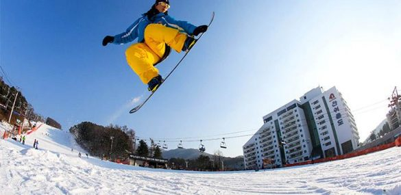Карвинг-сноубордисты из Южной Кореи будут покорять склоны Сахалина