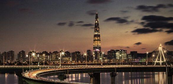Гостиничный оператор Lotte построил самый высокий отель в Корее