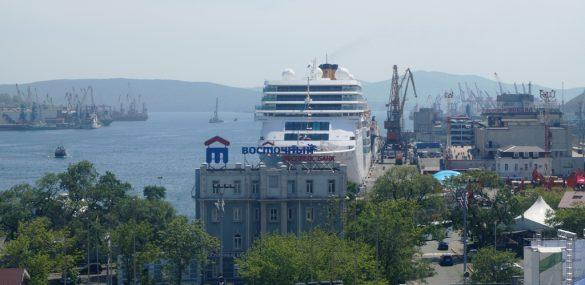 Круизный лайнер Costa NeoRomantica готов возить европейских туристов из Японии во Владивосток