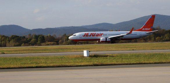 Авиакомпания Jeju Air  открыла регулярный рейс из Сеула во Владивосток