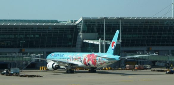 Korean Air заняла первое место в рейтинге удовлетворенности потребителей