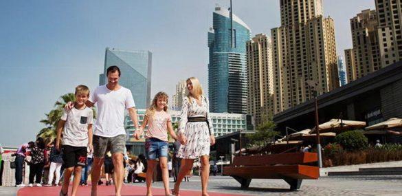 Число российских туристов в Дубае выросло в два раза