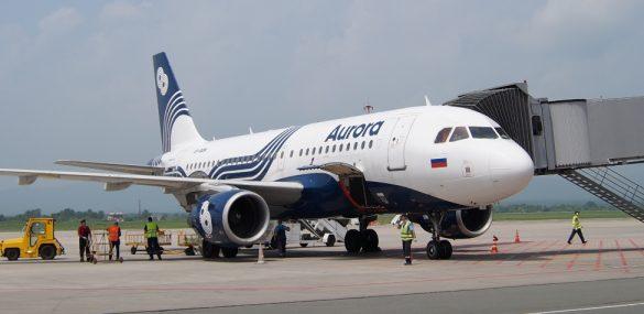 Пассажиропоток аэропорта Хабаровск в 2017 году увеличился почти на 10%