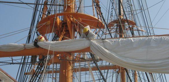 Японские парусники примут участие в международной парусной регате во Владивостоке