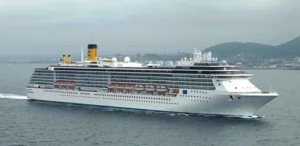 Судно-гигант Costa Serena придет во Владивосток