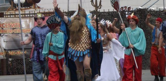 О Нептуне замолвите слово или появление резиденции морского царя во Владивостоке