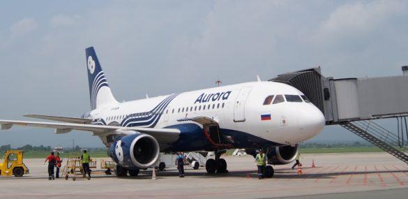 Авиакомпания «Аврора» начинает выполнять полеты из Владивостока в Муданьцзян