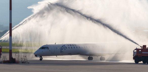 Прямой рейс соединил Владивосток и китайский Цицикар