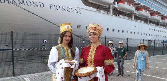 «Бриллиантовая принцесса» возвращается во Владивосток