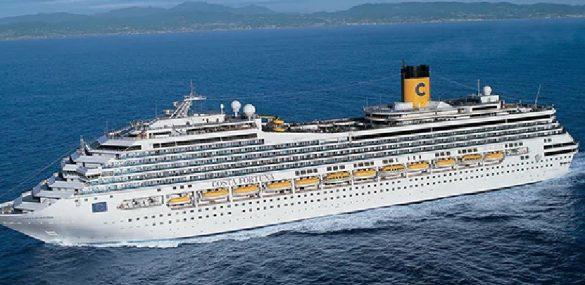 Владивосток впервые посетит круизный лайнер Costa Fortuna