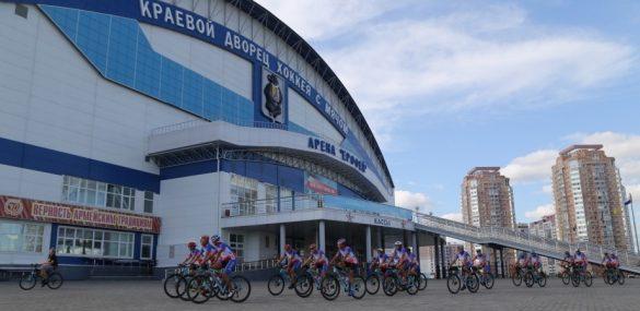 Участники международного велопробега «Санкт-Петербург – Владивосток» посетили Хабаровск