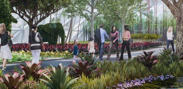 Аэропорт Чанги в Сингапуре готовится удивить своих пассажиров