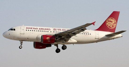 Китайская компания Juneyao Airlines будет летать из Владивостока в Нанкин