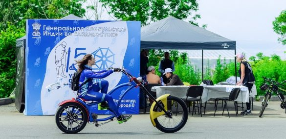 Принцип Ганди про простую жизнь отлично вписался в вело-фестиваль во Владивостоке