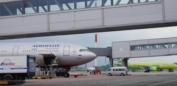 Международный аэропорт Владивосток увеличил пассажиропоток на 22% за 5 месяцев 2019 года