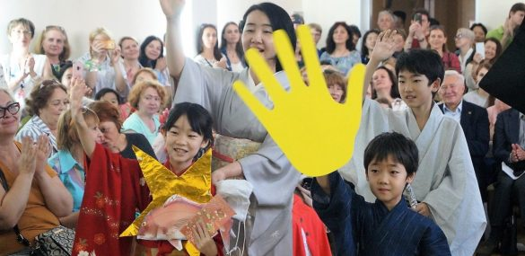 Во Владивостоке японские мифы и легенды «нарядили» в кимоно