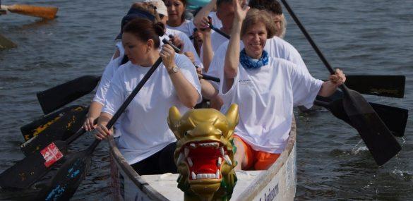 Гребля на драконах на кубок от Korean Air: турбизнес и сфера гостеприимства готовы грести в одной лодке