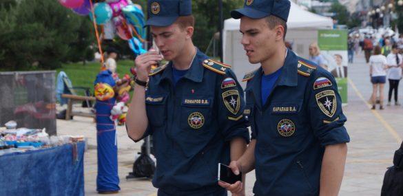 Стать сотрудником туристической полиции во Владивостоке хотят люди из разных уголков России