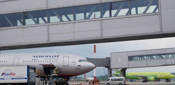 Аэрофлот : летать за границу пока не будем