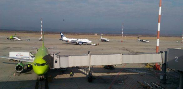Международный аэропорт Владивосток переходит на ограниченный режим работы