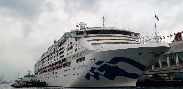 Круизная компания Princess Cruises отменила круизы до конца июня