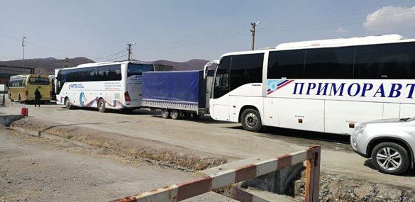 Электронные очереди для пассажирского транспорта на пунктах пропуска в Приморье: дело нужное, но далекое