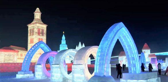 «Царство снега и льда» заработало в Харбине