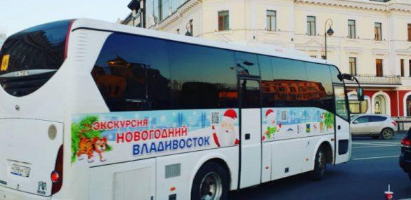 Владивостокцев и гостей города приглашают на новогодние экскурсии с Дедом морозом и подарками