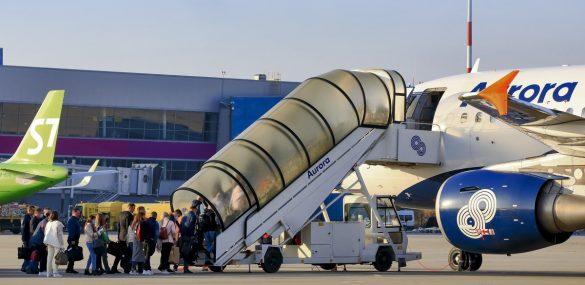 Международный аэропорт Владивостока подвел итоги работы за 2020 год