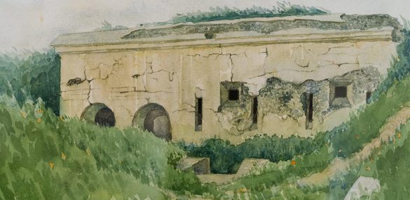 Знакомство с Владивостокской крепостью через акварели моряка и художника Павла Куянцева