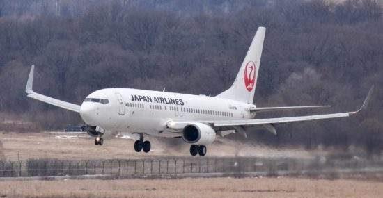 Выполнение рейсов JAL между Владивостоком и Токио вновь отложено