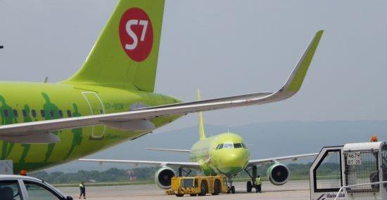 При полетах по России пассажиры стали выбирать S7 Airlines чаще