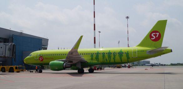S7 Airlines в апреле перевезла более 1,3 млн. пассажиров