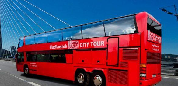 Двухэтажные экскурсионные автобусы начнут курсировать по улицам Владивостока