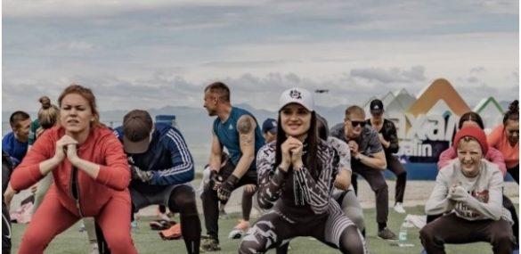 Сахалинцы присядут 1800 раз на «Горном воздухе»