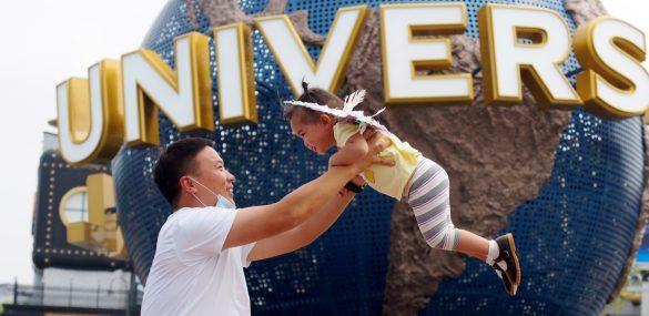 U.S. Universal Studios открыла первый тематический парк в Китае