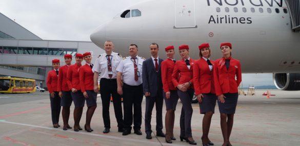 Авиакомпанию Nordwind признали лучшей на курортных направлениях