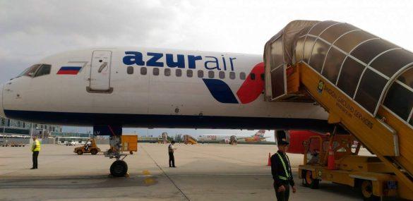Впервые в истории Международного аэропорта Владивосток начались рейсы в Египет
