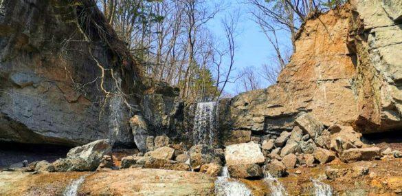 Нацпарк «Земля леопарда» будет спасать Кравцовские водопады