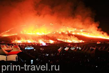 Приморские туристы могут посетить фестиваль огня на Чечжу