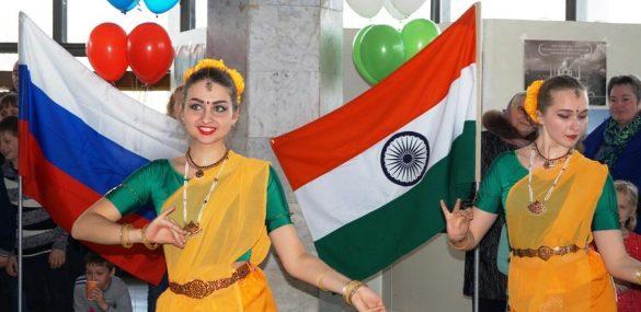 Приход весны встретили вместе во Владивостоке Индия и Россия