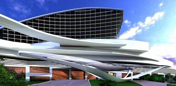 Строительство нового казино Selena идёт в Приморье полным ходом
