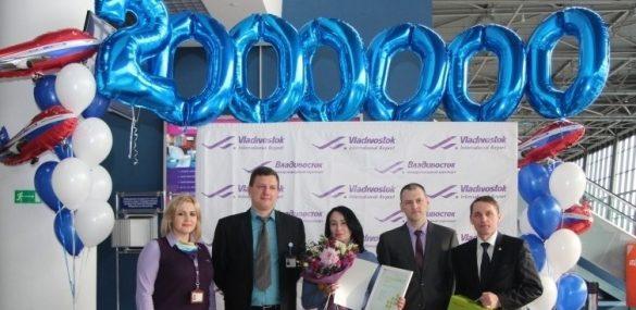 Рекорд  аэропорта Владивосток: обслужено 2 миллиона пассажиров