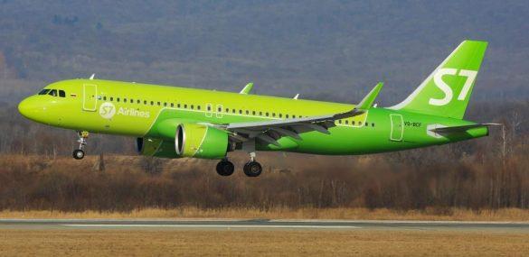 Авиакомпания S7 Airlines поставила на маршрут Владивосток – Бангкок новый самолет А320neo