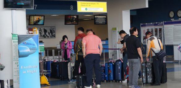Международный аэропорт Владивосток обслужил более 2 млн пассажиров в 2017 году