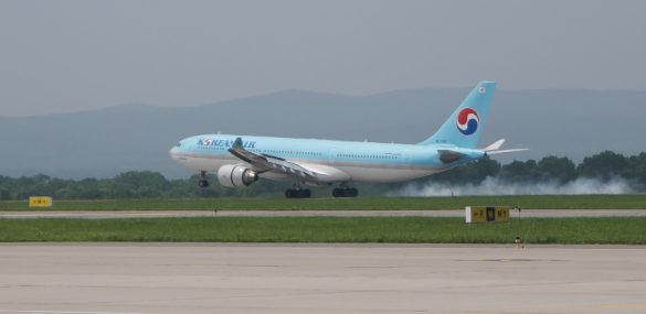 Korean Air ставит между Владивостоком и Сеулом лайнер Airbus A330