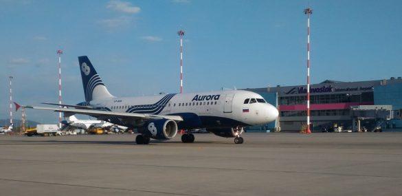 Международный аэропорт Владивосток увеличил пассажиропоток в апреле на 22%
