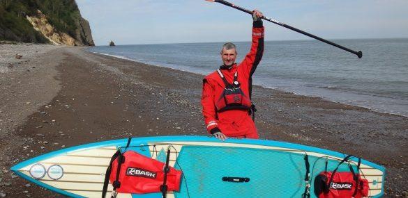 Экстремал из Приморья завершил 1-й этап «Большой Хабаровской SUP экспедиции».