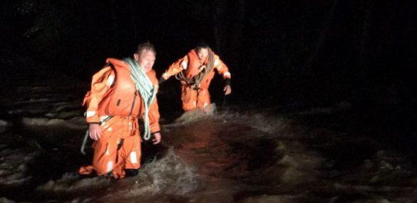 В Партизанском районе Приморья спасатели МЧС эвакуировали туристов