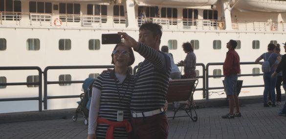 А иностранные туристы едут и едут в Приморье